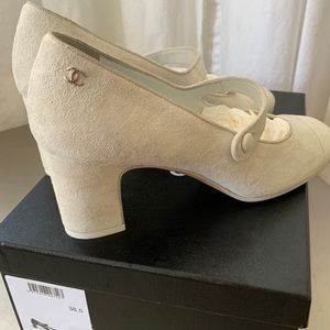 Chanel Mary Janes
